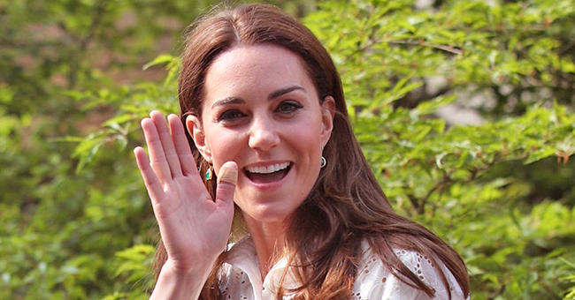 Kate Middleton Joined by Local School Children in Her New 'Back to Nature' Garden