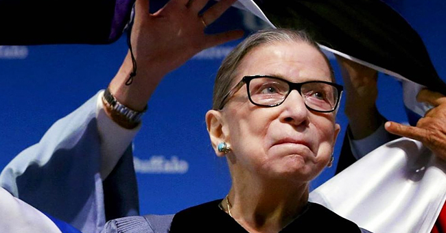 Ruth Bader Ginsburg Honored with Law Degree Just Days after Finishing Cancer Treatment