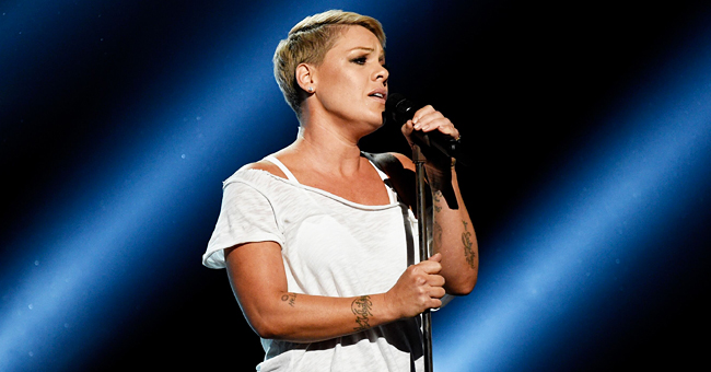 Pink Shares Message in Defense of Her Children Running at a Holocaust Memorial