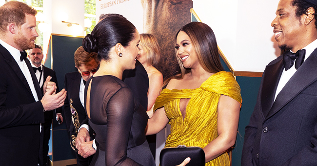Beyoncé Compliments Meghan Markle's Baby at 'The Lion King' Premiere
