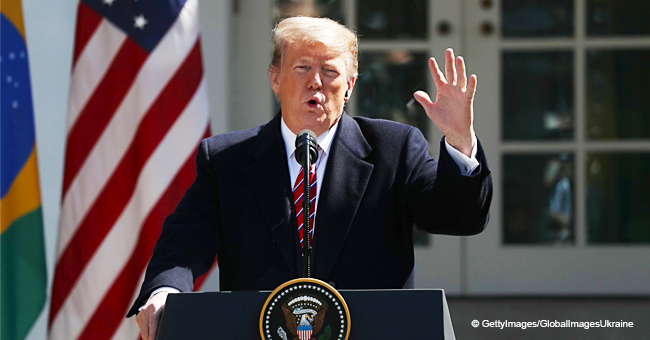 President Donald Trump Breaks Silence after Mueller Report Summary Released