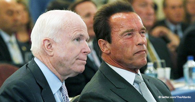 Atlantic: Arnold Schwarzenegger Slams Trump after His Mocking of John McCain