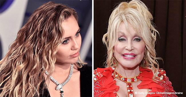 Miley Cyrus Confesses That Her First Kiss Was with a Girl and Slams Dolly Parton in an Interview