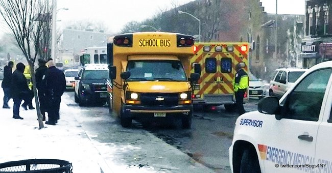 Arrested: School bus driver overdosed on heroin and crashed with 12 special needs students aboard