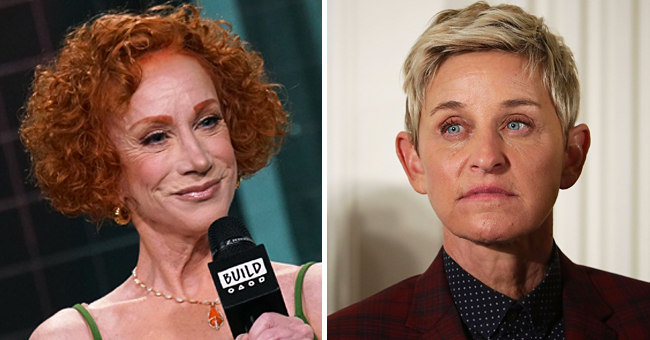 Kathy Griffin Didn't 'Make up' with Ellen DeGeneres and Is 'Apparently Not Her Cup of Tea'