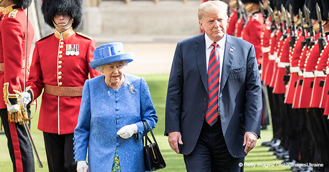 Queen Elizabeth II Sparks Controversy by Inviting President Donald Trump and Melania to London