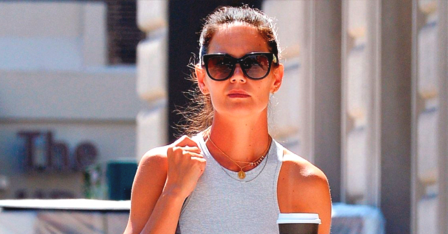 Katie Holmes Shows off Her Abs on a Stroll in New York City