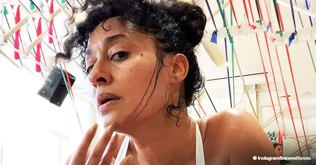 Tracee Ellis Ross Turns up the Heat, Flaunting Her Seductive Body While Working out in New Videos