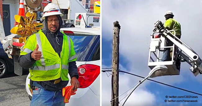Verizon Suspends Hero Employee for Using Work Gear to Save a Cat Stuck on a Telephone Pole