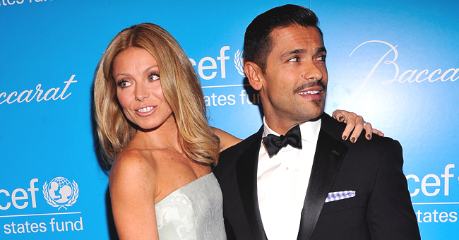 Kelly Ripa's Fans Relieved That Husband Mark Consuelos Shaved off His Mustache after Seeing a Throwback Photo