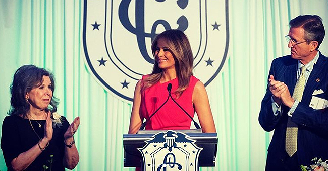 Melania Trump Dazzles at First Lady's Luncheon