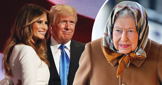Donald and Melania Trump May Greet Queen Elizabeth without the Traditional Bow and Curtsy