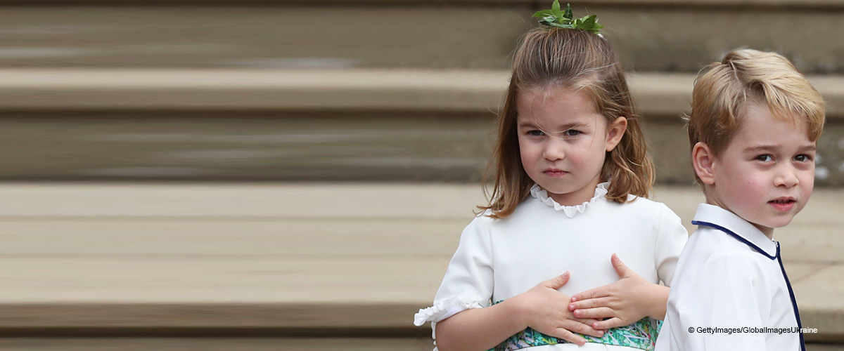 Prince George and Princess Charlotte Look so Grown-up in New Photos during a Recent Outing
