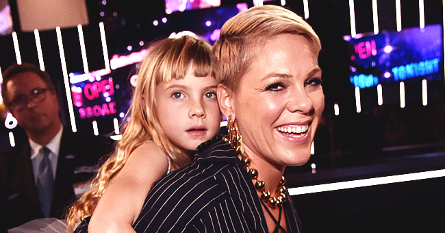 'Raise Your Glass' Singer Pink Shares Throwback Pic of Daughter Willow & Moving Note about Family