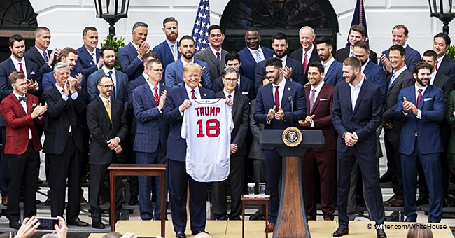 Boston Red Sox Players Boycott Meeting President Trump at the White House