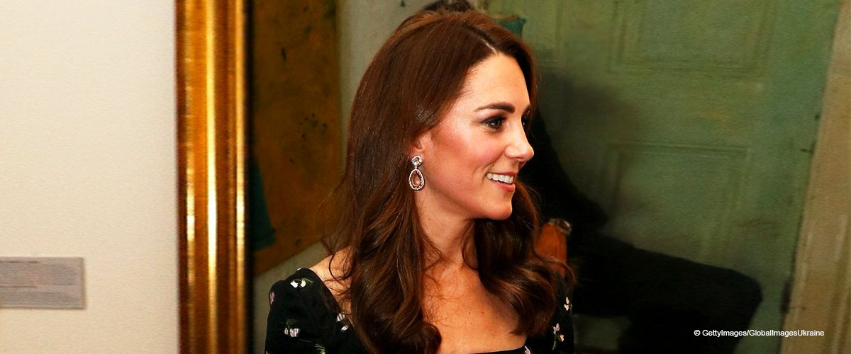 Kate Middleton Dazzles in a Gorgeous Floral Alexander McQueen Gown at Glittering Gala Evening