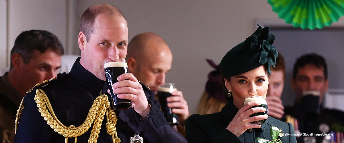 Kate Middleton Spotted Sipping a Pint of Beer with Prince William in a Genteel Emerald Outfit