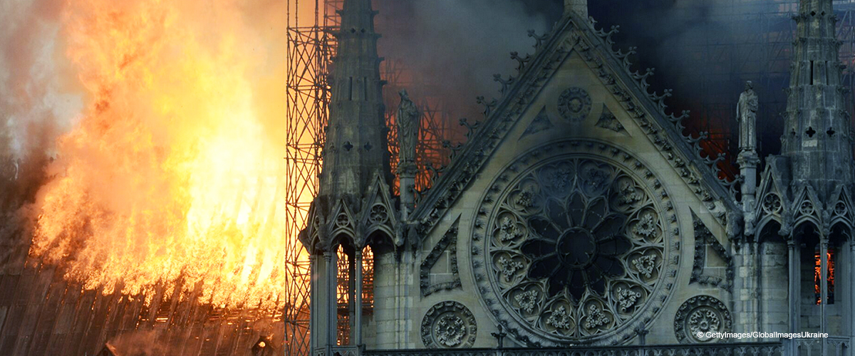 Woman Claims She Saw Jesus in a Photo of the Fire-Ravaged Notre Dame Cathedral