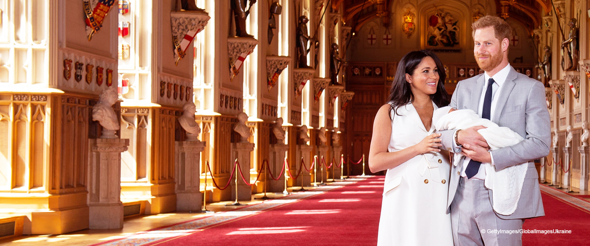 Meghan Markle Revealed Her Post-Baby Bump in a White Givenchy Wrap Dress at Archie's Introduction