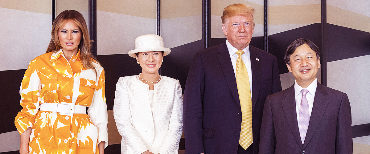 President Donald Trump Became First Foreign Leader to Meet Japan's New Emperor, Naruhito