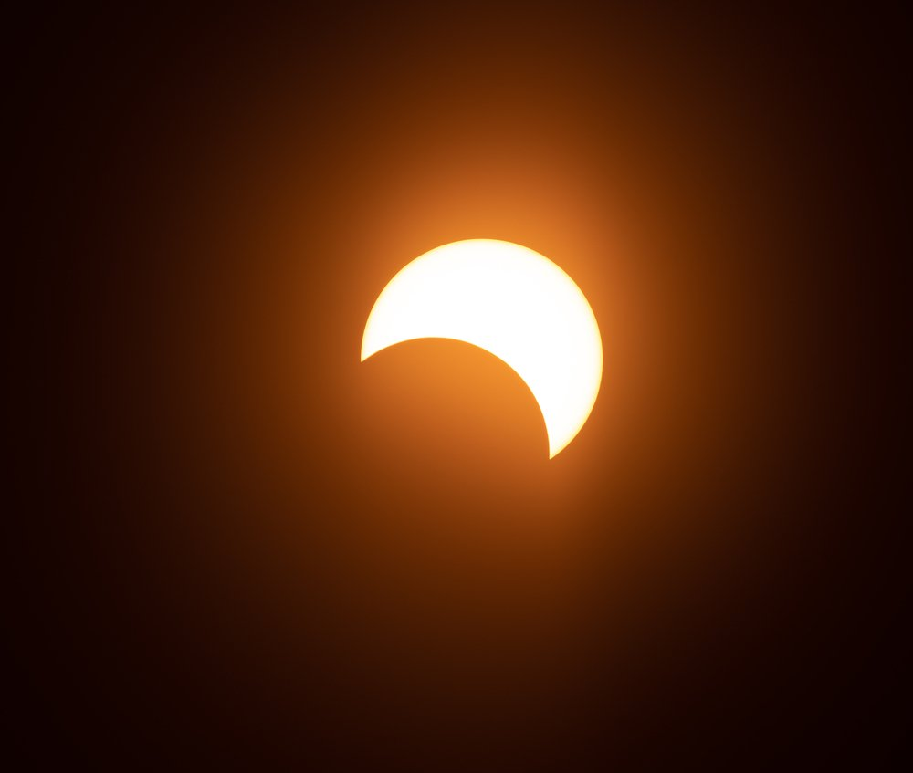 Partial solar eclipse from kochi in 2019   Photo: Shutterstock