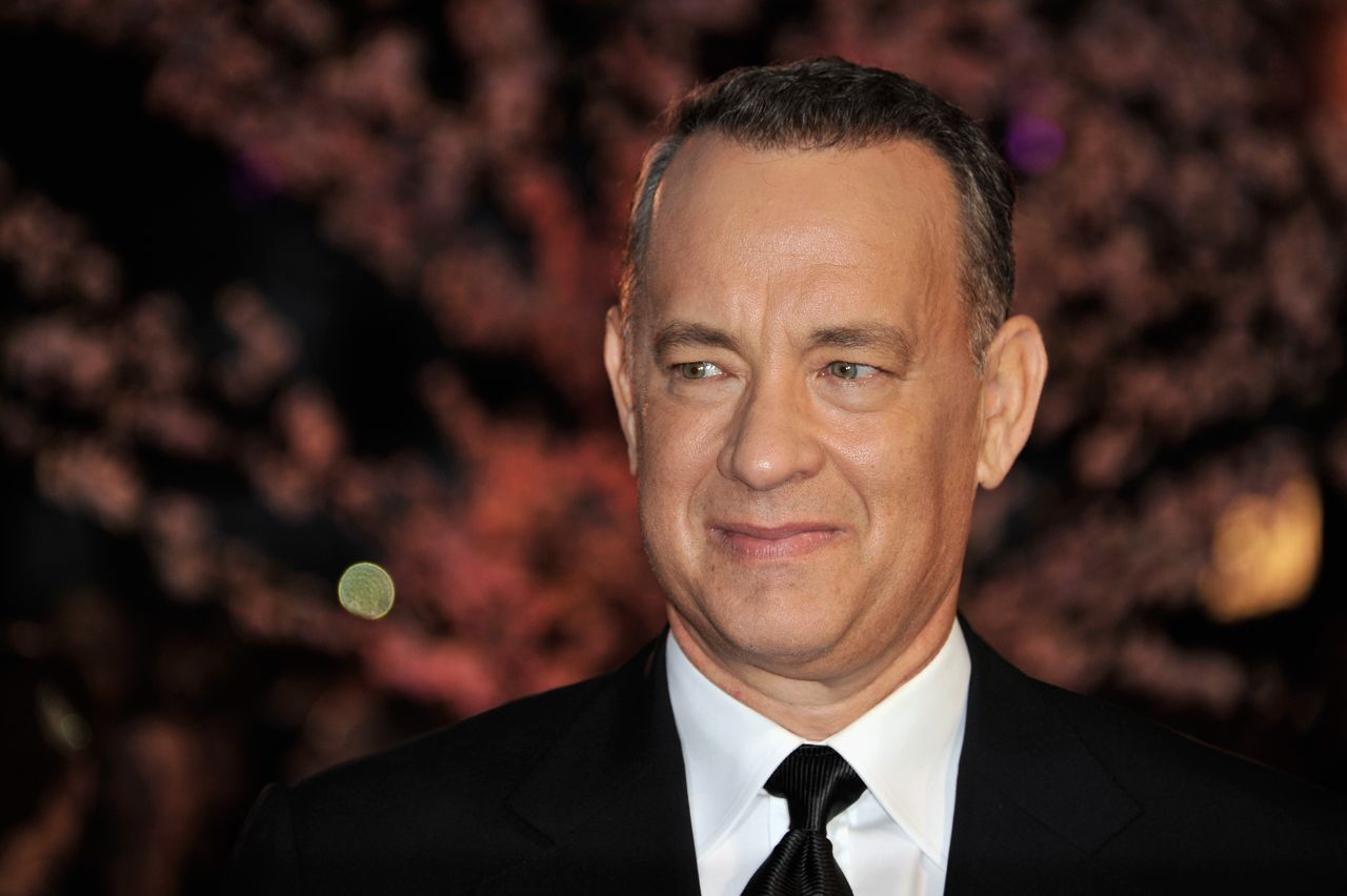 Tom Hanks en el 57º BFI London Film Festival en Odeon Leicester Square el 20 de octubre de 2013. | Foto: Getty Images