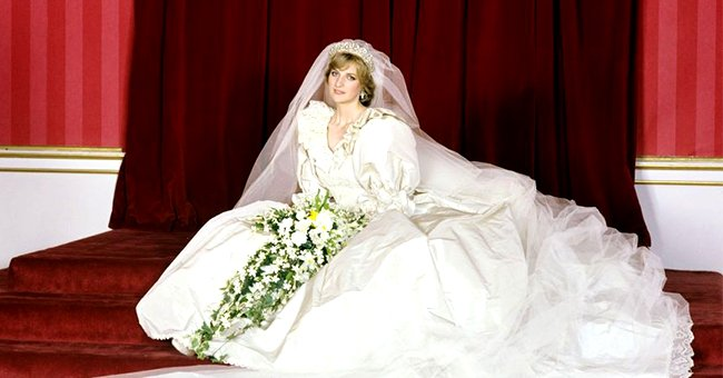 Princess Diana's Wedding Gown with 25-Foot Train Is Currently on Display for the Public to See