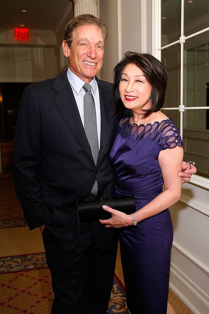"Maury Povich and Connie Chung attend the Manhattan Theatre Club's winter benefit ""An Intimate Night"" at The Plaza Hotel  