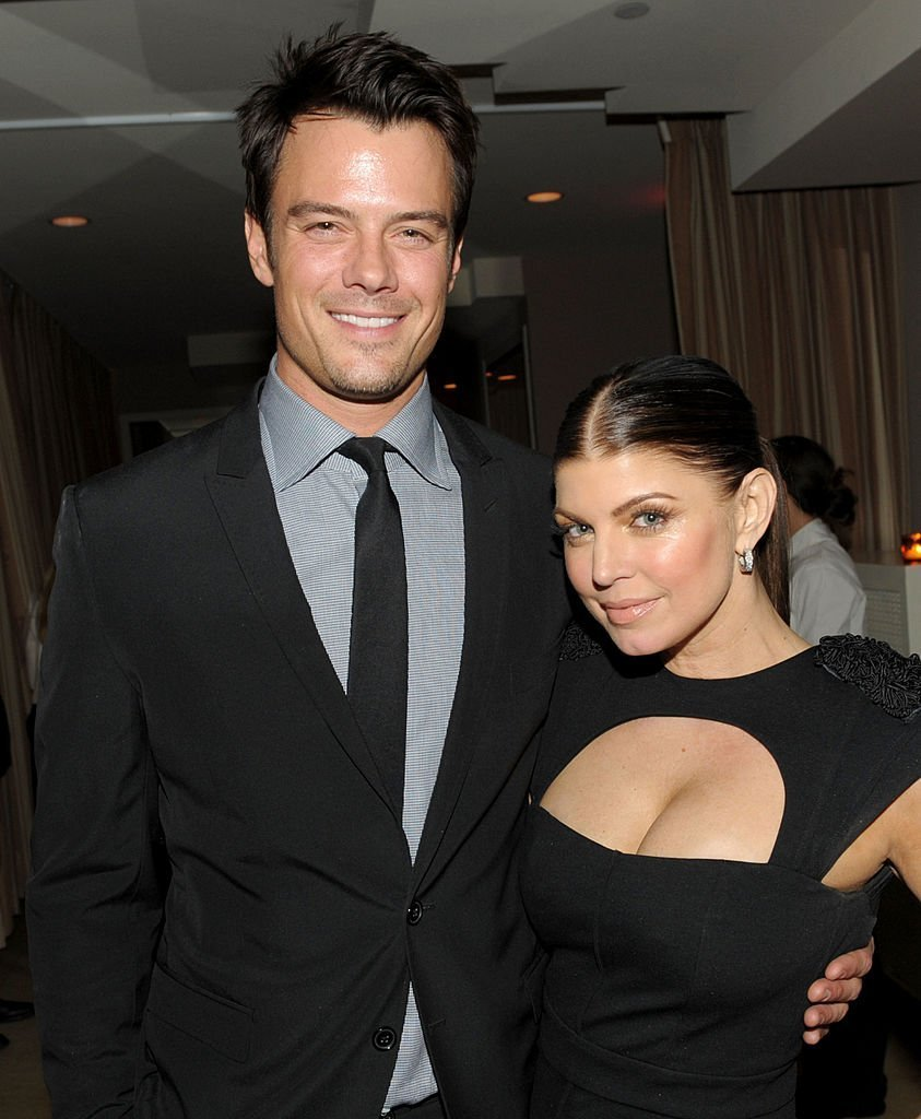 "osh Duhamel  and Fergie arrive at the after party for the premiere of ""Nine"" at Sunset Towers on December 9, 2009, in West Hollywood, California. 
