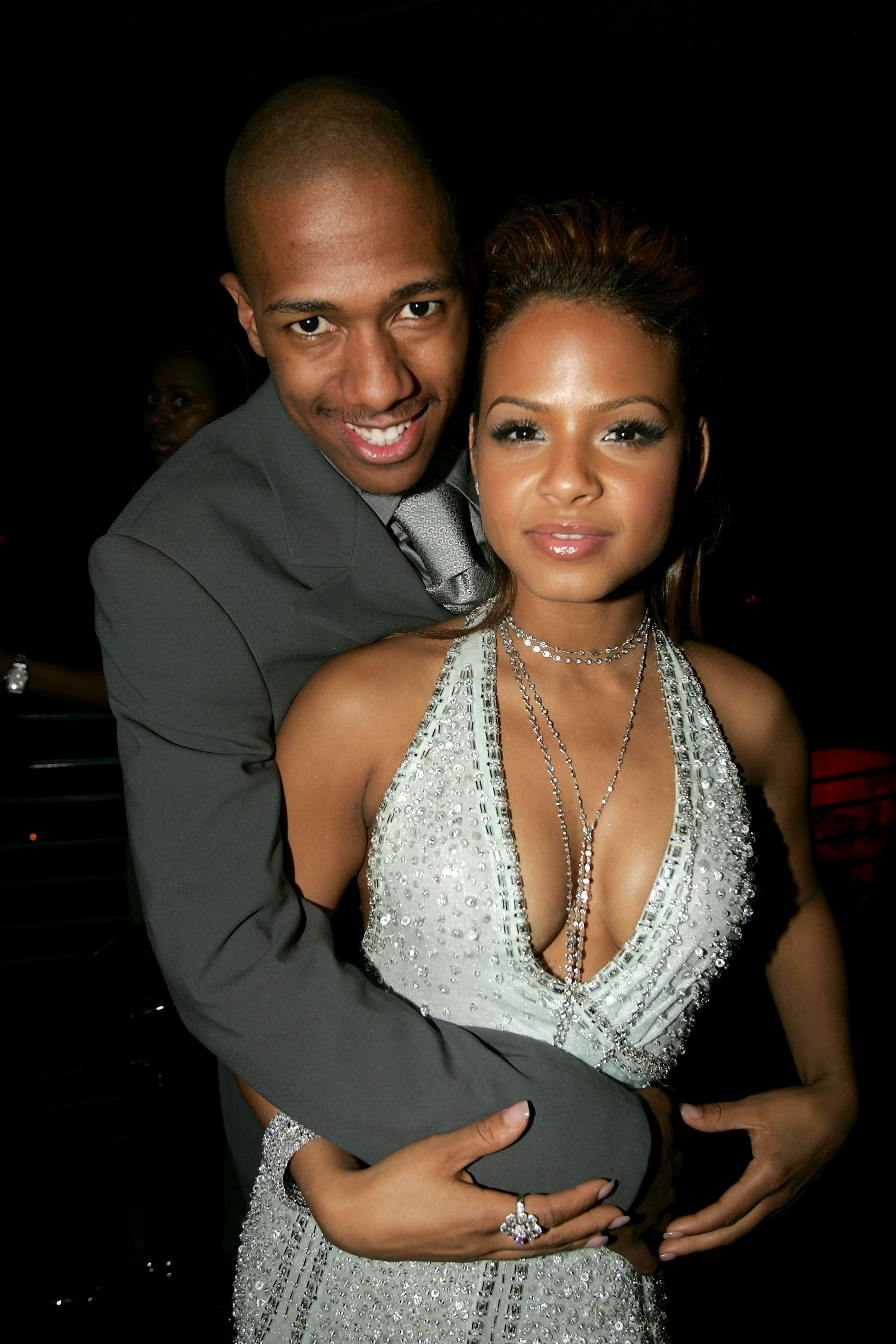 Nick Cannon and Christina Milian at a formal event | Source: Getty Images/GlobalImagesUkraine