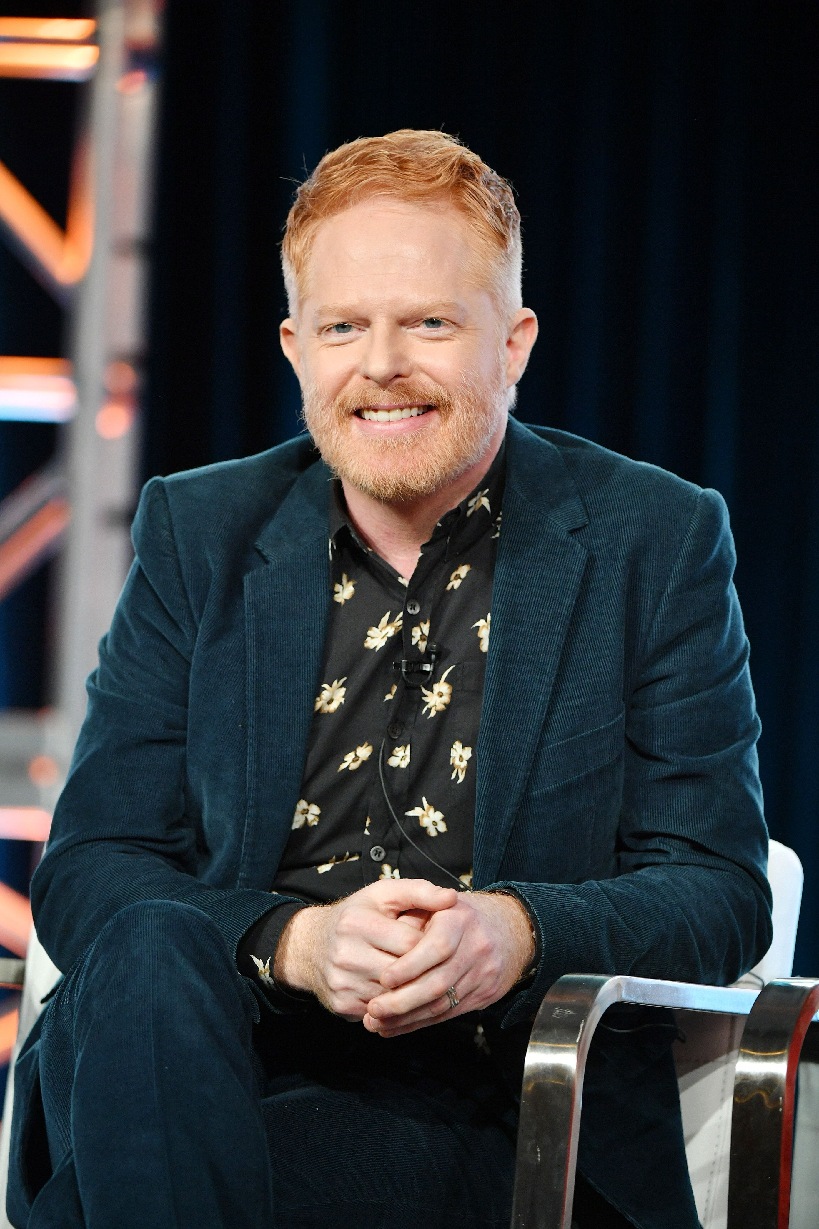 Jesse Tyler Ferguson at the HGTV segment of the 2020 Winter TCA Press Tour at The Langham Huntington, Pasadena on January 16, 2020 | Photo: Getty Images