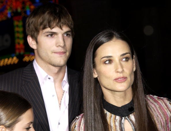 Ashton Kutcher, Demi Moore, Hollywood, 2003 | Quelle: Getty Images