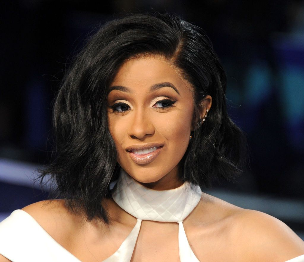 Cardi B at the 2017 MTV Video Music Awards at The Forum on August 27, 2017. | Source: Getty Images