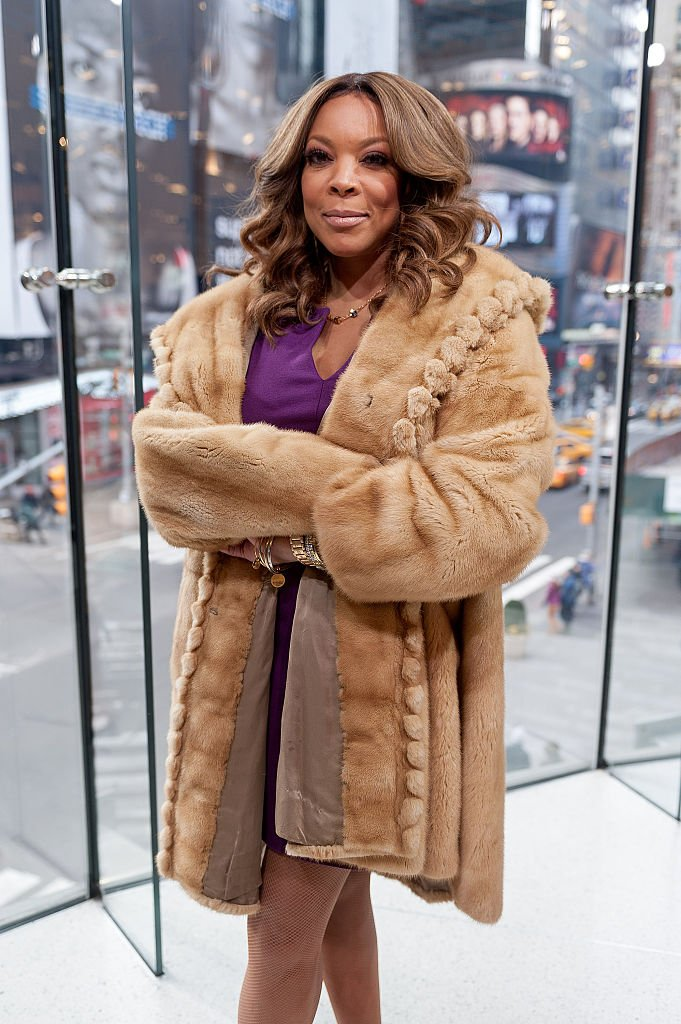 """Wendy Williams visits """"Extra"""" at their New York studios at H&M in Times Square 
