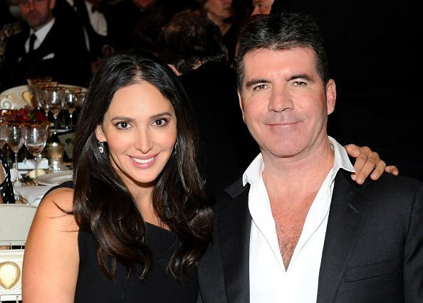 Simon Cowell and Lauren Silverman on February 3, 2015 in London, England | Source: Getty Images