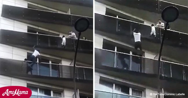 Immigrant rewarded by president Macron for saving boy suspended from 5th floor