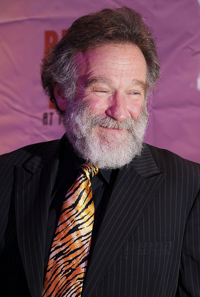 """Robin Williams at the after party for opening night of """"Bengal Tiger At The Baghdad Zoo"""" at Espace on March 31, 2011 in New York City 