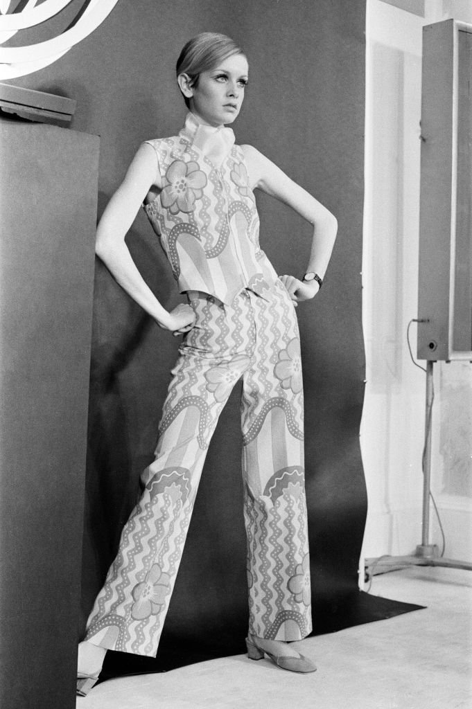 Twiggy's photoshoot as she launches new collection, The Twiggy Look Collection, London, February 16, 1967.