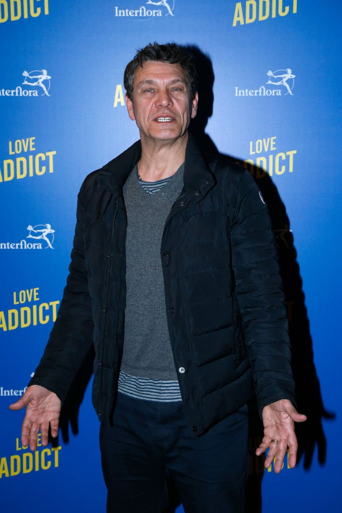 "Marc Lavoine assiste à la ""Love Addict"": Première au Cinéma Gaumont Marignan le 16 avril 2018 à Paris, France. 