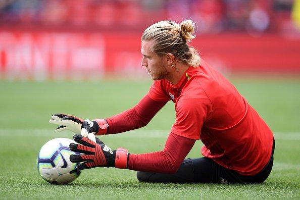 Loris Karius beim Training, Liverpool, 2018   Quelle: Getty Images
