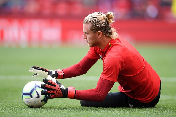 Loris Karius beim Training, Liverpool, 2018 | Quelle: Getty Images