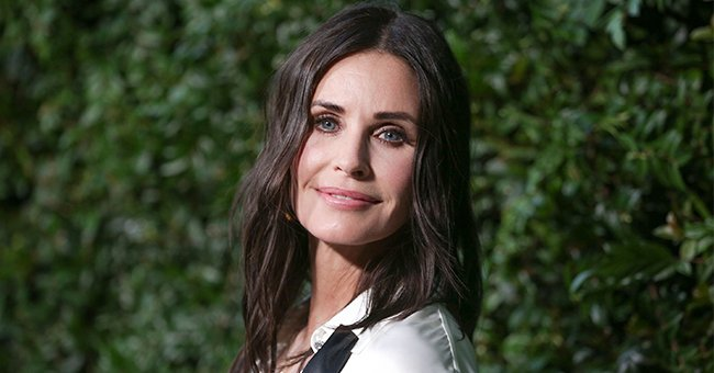 Courteney Cox at the Our Majestic Oceans Benefit Dinner hosted by Chanel on June 2, 2018 in Malibu, California. | Photo: Getty Images