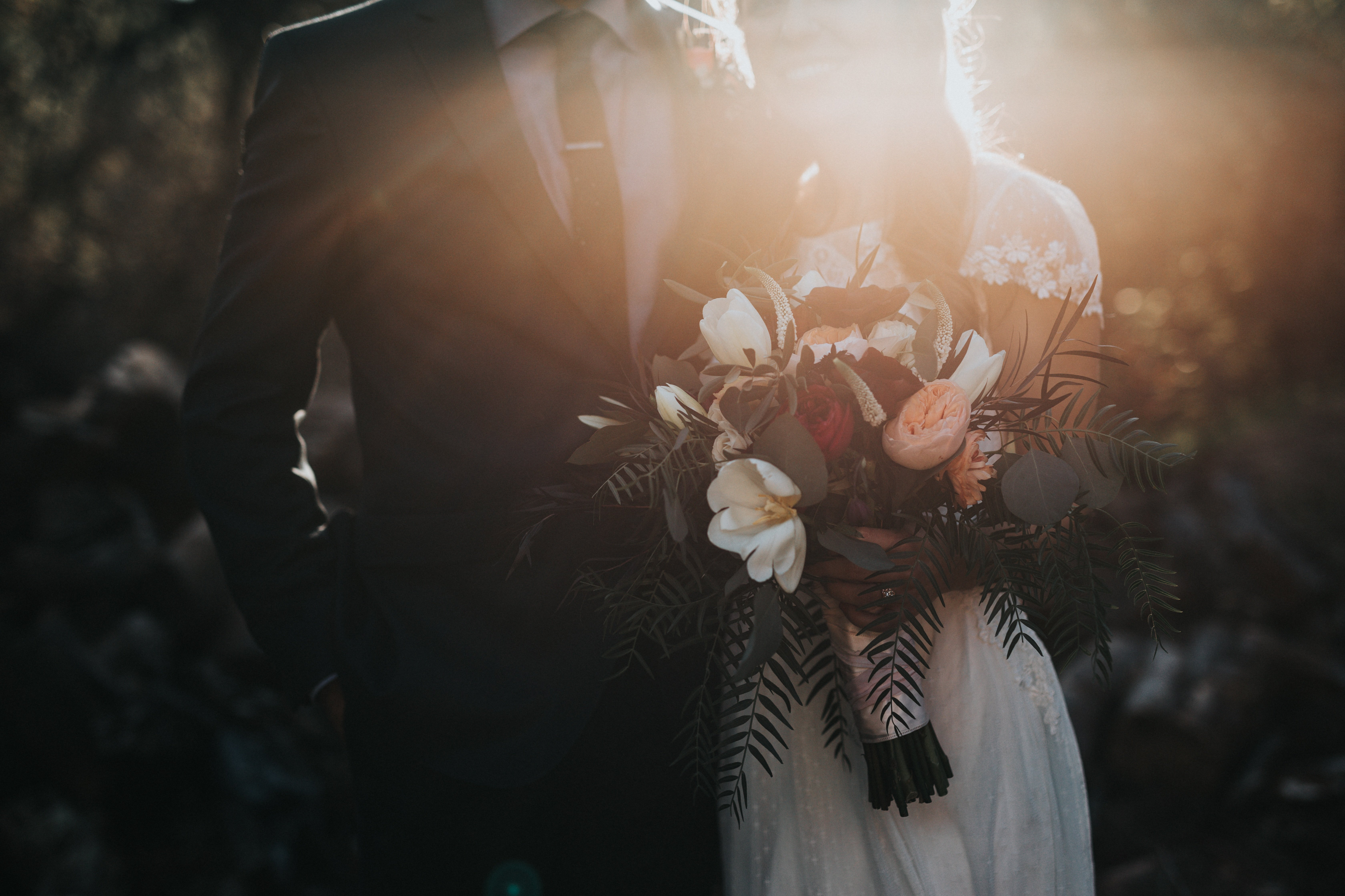 A couple on their wedding day | Source: Unsplash