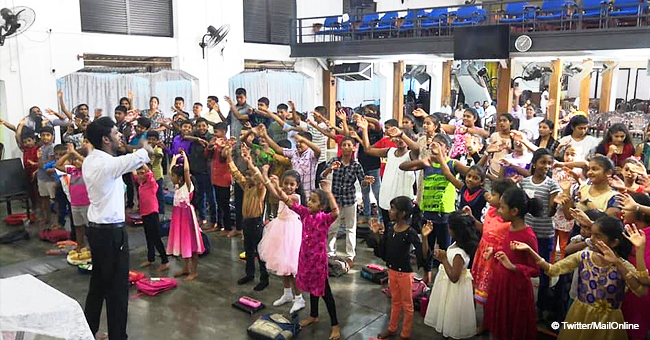 Smiling Kids Pictured in Church Less Than an Hour before Sri Lanka Bombings