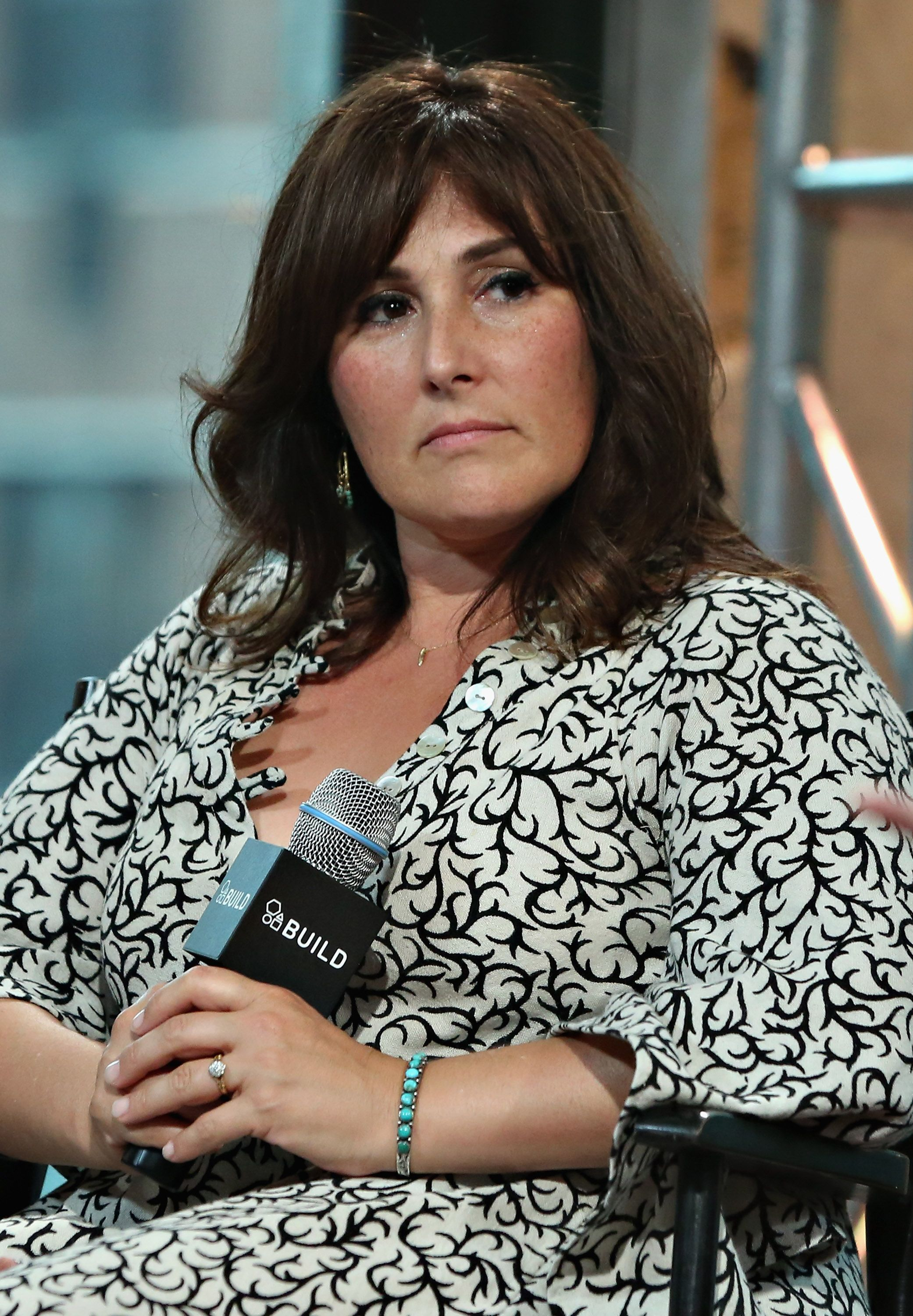 Ricki Lake at AOL Build at AOL Studios on August 10, 2015 | Getty Images