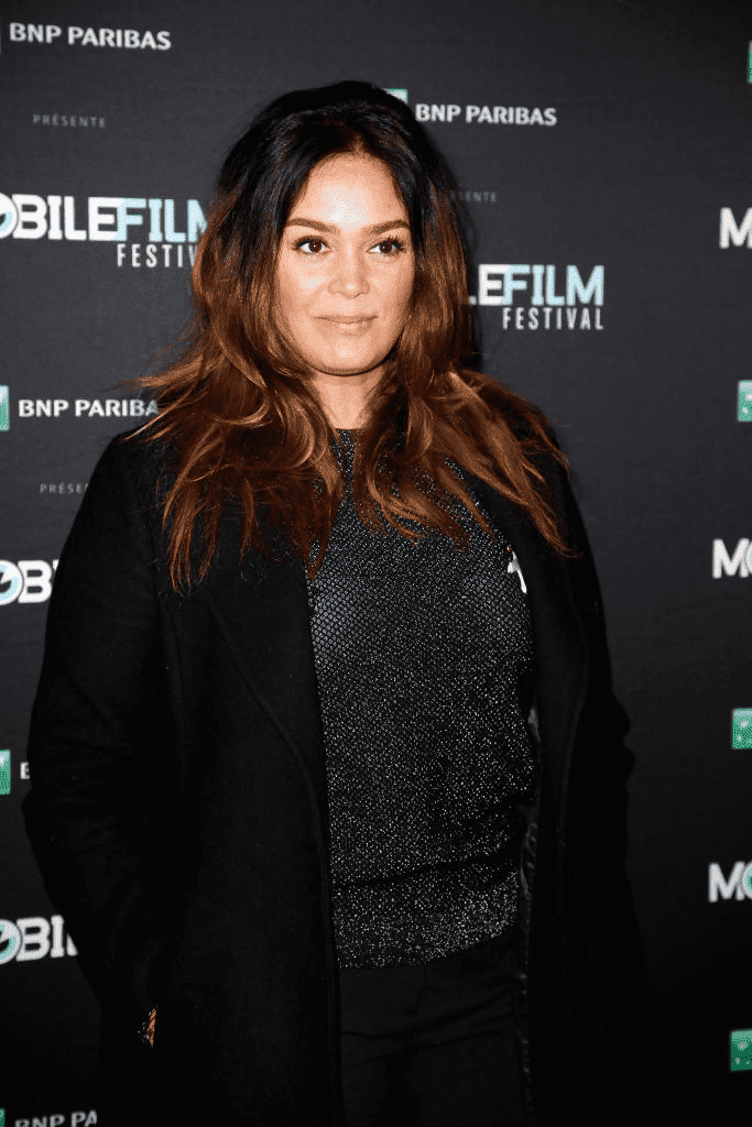"Lola Dewaere, membre du jury, assiste au ""Festival du Film Mobile 2018"" à la Bibliothèque Mk2 le 13 mars 2018 à Paris, France. 