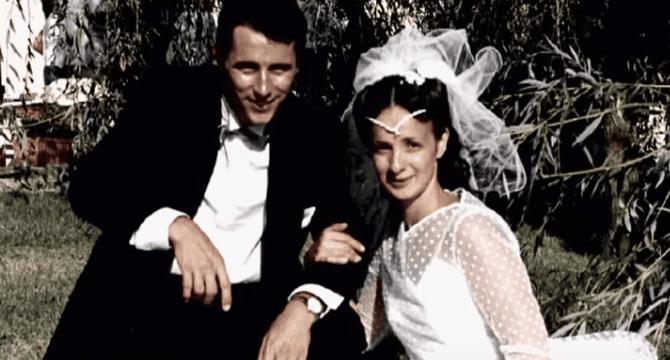 Photo de noces de Jacques et Suzanne Viguier. | Youtube/Faites entrer l'accusé