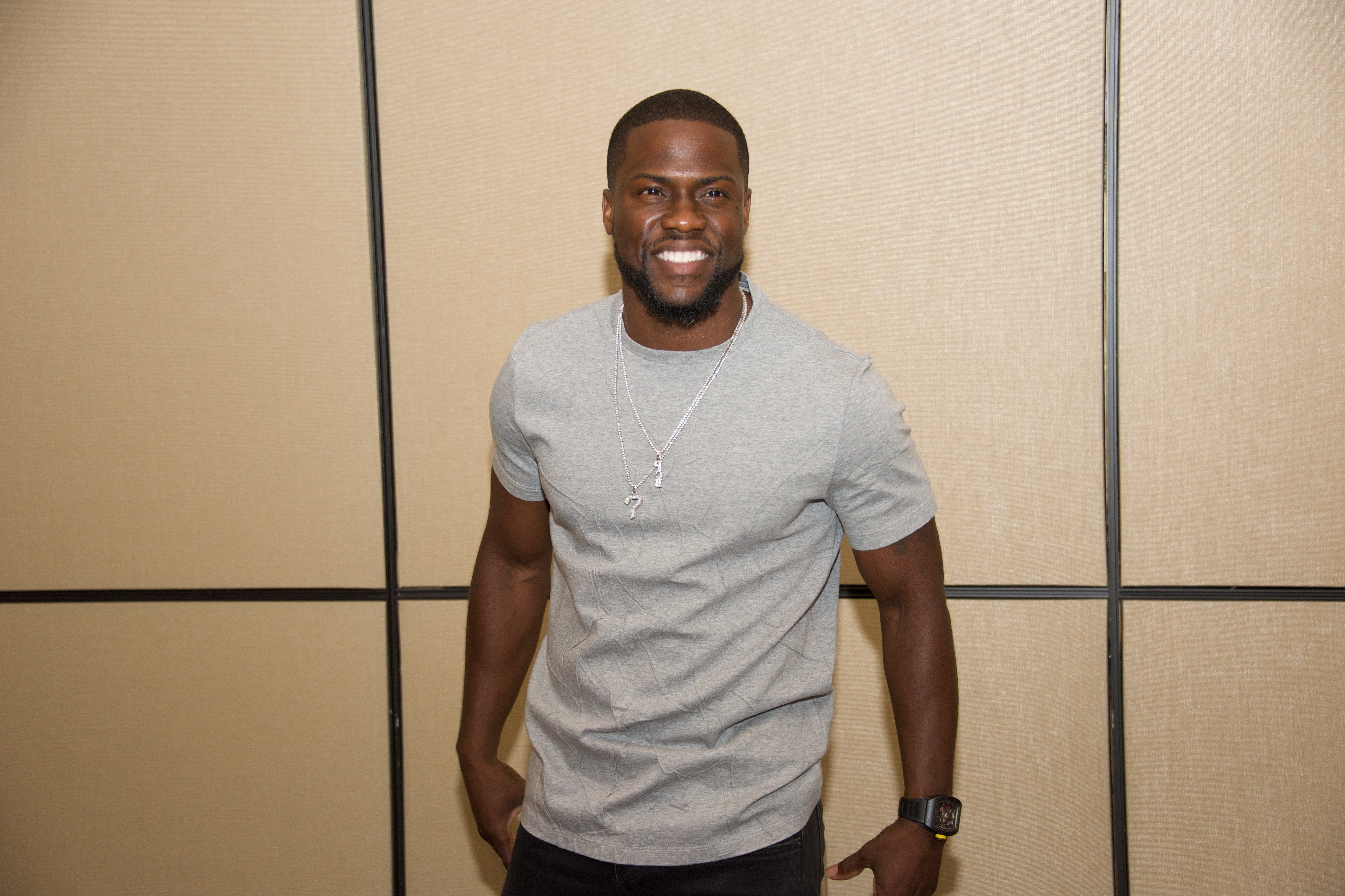 """Kevin Hart at """"The Secret Life of Pets"""" movie press conference on June 24, 2016 in New York City.   Photo: Getty Images"""