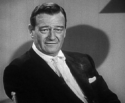 "John Wayne from ""The Challenge of Ideas"" circa 1961. 