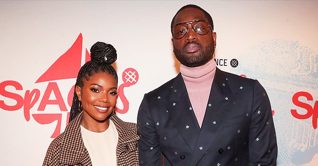 Gabrielle Union and Dwyane Wade's Kids Kaavia and Zaya Play Ball in Cute Photos